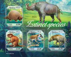 Maldives  2019   Fauna  Extinct Species Rhino  S201904 - Maldives (1965-...)