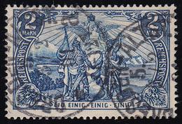 64II Kaiserreich 2 M, REICHSPOST,Type II, O - Ohne Zuordnung