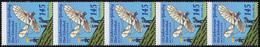 3254 Otto Lilienthal 5er-Streifen Aus Rolle Mit UNGERADER Nummer ** - BRD