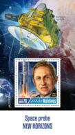 Maldives  2019 Space Probe New Horizons   S201904 - Maldives (1965-...)