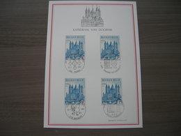 "BELG.1971 1570 FDC FILATELIA Card ""8e Eeuwfeest Van De O.L.V. Kathedraal Van Doornik- 8e Centenaire De La Cathédrale N."" - FDC"