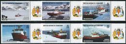 BAT 2011. Michel #577/82 MNH/Luxe. Research Ships. (Ts21) - British Antarctic Territory  (BAT)
