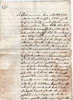 Madrano E Vigolo Vattaro (Trento) - Antico Documento Manoscritto In Latino Del 1607 - Vedi Descrizione - (FDC16087) - Manoscritti