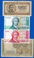 Croatie  7  Billets  Dans  L'etat  + 1 - Croacia