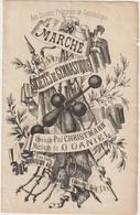 (GEO2 )MARCHE Des Societes De Gymnastique , Paroles Paul Christmann , Musique D DANIEL - Spartiti