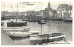 44 LE CROISIC - Le Port Et Les Quais - Le Croisic