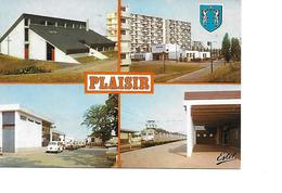 78 PLAISIR Cpm Multivues - Plaisir