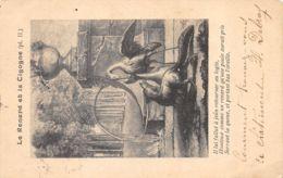 Fable (Animaux) - Le Renard Et La Cigogne - Pl II - Animales