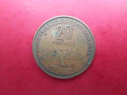 French Somaliland 20 Francs 1965 - Dschibuti