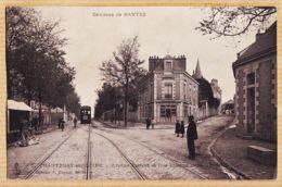 X44057 Rare CHANTENAY-sur-LOIRE Env. NANTES Avenue PASTEUR Rue Etienne DOLET Taxée 1905 à VENARD Donneville St-Anatoly - Nantes