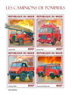 Niger 2019 Fire Engnines    S201904 - Niger (1960-...)