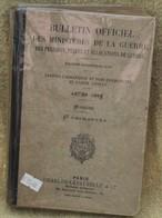 Bulletin Officiel Des Ministères De La Guerre Année 1923 - Livres
