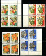 Russia 1963  Mi  2789-2792  MNH ** - 1923-1991 USSR