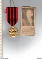 M E - Medaille - Onderscheidung Te Kortrijk Aan Dionysius Van Raes - Belgium