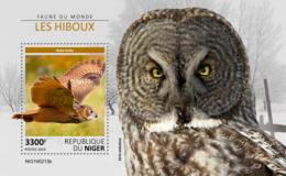 Niger 2019    Fauna  Birds  Owls  S201904 - Niger (1960-...)