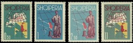 Albanie Albania 1962 Yvertn° 589-592  *** MNH Cote 27,50 Euro Tourisme - Albanie