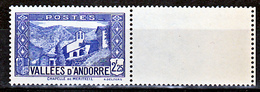 Andorre  84 Chapelle BDF Neuf ** TB Mnh Sin Charnela Cote 20 - Andorre Français