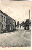 1 Postkaart Van Rond 1908 Kalfort Calfort  Het Dorp Stootkar Cliché  F. Walschaerts PUURS Dorp Gekend Voor Aspergeteelt - Sint-Amands