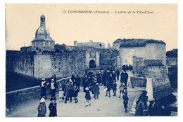 CPA      29     CONCARNEAU           ENTREE DE LA VILLE CLOSE - Concarneau