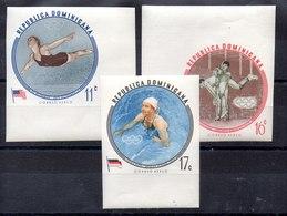 Serie De Rep. Dominicana Aéreo N ºYvert 146/48 Sin Dentar ** - Postcards