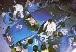 Alpine Renault A110 1600  -  Rallye Monte-Carlo 1971  -  Pilote: Jean-Claude Andruet  -  PHOTO 15x10cms - Rally
