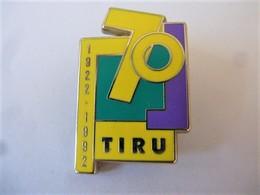 PINS 70 ANS  TIRU Traitement Industriel Des Résidus Urbains 1922-1992 / 33NAT - Trademarks