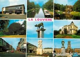 Belgique - La Louvière - Multivues - Automobiles - Carte Neuve - Voir Scans Recto-Verso - La Louviere