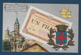 Billet De 1 Franc - Chambres De Commerce Du Puy De Dome - Francia