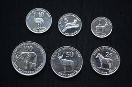 Eritrea Coin Set. 1 Set Of 6 Coins. UNC Animal - Eritrea