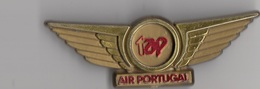 COMPAGNIE D'AVIATION AIR PORTUGAL / INSIGNE DE POITRINE TAP - Crew Badges