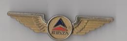 COMPAGNIE D'AVIATION DELTA / INSIGNE DE POITRINE - Crew Badges
