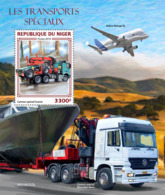Niger 2019  Special Transport  Truck, Airplane   S201904 - Niger (1960-...)