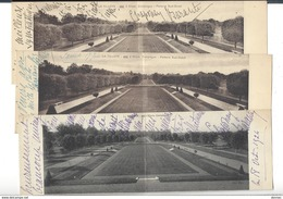 AUTOGRAPHE Baronne A. De Chaponay - Barante 3 Cartes De Service Château De La Tilloye Compiègne - Autogramme & Autographen