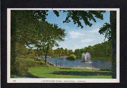 Canada / Quebec / Montréal / Lafontaine Park / Parc Lafontaine - Montreal