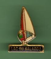 PLANCHE A VOILE ***  LAC DU SALAGOU *** 1027 (49) - Sailing, Yachting