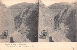 ¤¤  -   ETATS-UNIS    -   Carte-Stéréo    -  YELLOWSTONE   -  Parc National  -  La Porte Dorée  -  ¤¤ - Yellowstone