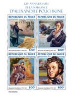 Niger 2019     Alexander Pushkin   Russian Poet   S201904 - Niger (1960-...)