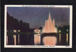Canada / Quebec / Montréal / Lafontaine Park / Parc Lafontaine / Fontaine Lumineuse - Montreal