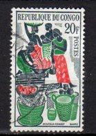 Congo Yvert N° 149 Oblitéré Marché De Brazzaville  Lot 2-597 - Usati