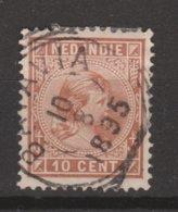 Nederlands Indie 23 TOP CANCEL BATAVIA ; Koningin Queen Reine Reina Wilhelmina 1892 NETHERLANDS INDIES PER PIECE - Niederländisch-Indien