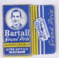 Lama Lametta Da Barba Bartali Grand Prix NOS Razor Blade Rasieklingen Lame De Rasoir Rasoio Di Sicurezza - Lamette Da Barba