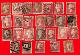 4183 ~~ 1958 ~~   GRANDE - BRETAGNE  N°  26  Lot De Timbres Oblitérés - Collections