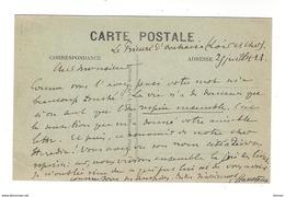 AUTOGRAPHE Gabriel Hanoteaux Prieuré D'Orchaise 1923 - Autogramme & Autographen
