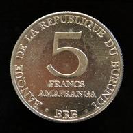 Burundi 5 Francs 1980. Km20. UNC Africa Coin - Burundi