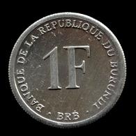 Burundi 1 Franc 2003. Km19 UNC Africa Coin - Burundi