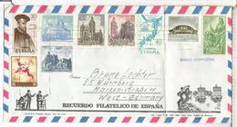 SOBRE TURISTICO MAT EL ARENAL SELLOS CASTILLO CASTLE IOC ARTE RUPESTRE GRAN CAPITAN - 1931-Hoy: 2ª República - ... Juan Carlos I
