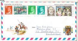 DON QUIJOTE SOBRE TURISTICO MAT PALMA SELLOS ZARZUELA MUSICA WINE VINO - 1931-Hoy: 2ª República - ... Juan Carlos I