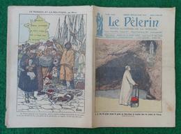 Revue Illustrée Le Pèlerin - Févier 1923 - La Visite Des Catacombes Par L'archéologue G.-B. De Rossi Au Pape Pie IX - Journaux - Quotidiens