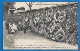 MILITARIA -  GUERRE DE 1870 - LE MUR DES FÉDÉRÉS - CIMETIÈRE DU PÈRE LACHAISE - Otras Guerras