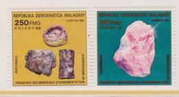 Madagascar Minerali Minerals Set MNH - Minerali